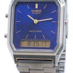 Casio Quartz AQ-230GG-2A Dual Time Unisex Watch