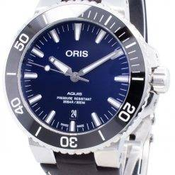 Oris Aquis Date 01 733 7730 4135-07 5 24 10EB 01-733-7730-4135-07-5-24-10EB Automatic 300M Men's Watch