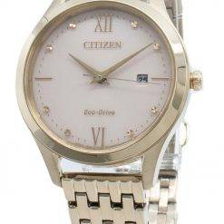 Citizen Eco-Drive EW2533-89X Diamond Accents Women's Watch