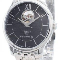 Tissot Tradition Powermatic 80 T063.907.11.058.00 T0639071105800 Automatic Open Heart Men's Watch