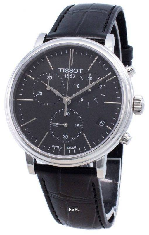 Tissot Carson Premium T122.417.16.051.00 T1224171605100 Chronograph Quartz Men's Watch