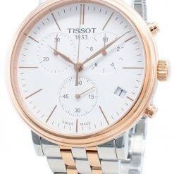 Tissot Carson Premium T122.417.22.011.00 T1224172201100 Chronograph Quartz Men's Watch