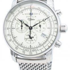 Zeppelin 100 Jahre 8680M3 8680M-3 Tachymeter Quartz Men's Watch