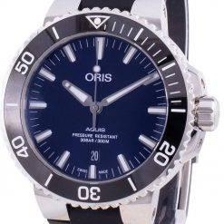 Oris Aquis Date 01-733-7730-4135-07-4-24-64EB Automatic 300M Men's Watch