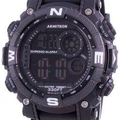 Armitron Sport 408284BLK Quartz Compass Men's Watch