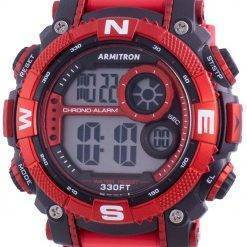 Armitron Sport 408284RDBK Quartz Compass Men's Watch