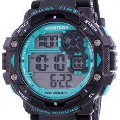 Armitron Sport 408309BTL Quartz Dual Time Men's Watch