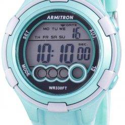 Armitron Sport 457053LTG Quartz Dual Time Women's Watch