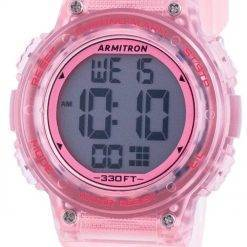 Armitron Sport 457086TPK Quartz Dual Time Women's Watch