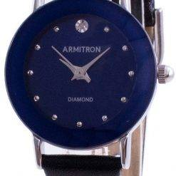 Armitron 752447BLSVBK Quartz Diamond Accents Women's Watch