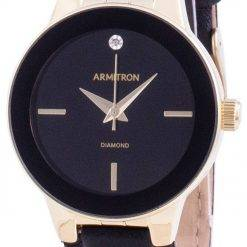 Armitron 755410BKGPBK Quartz Diamond Accents Women's Watch