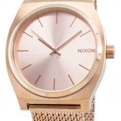 Nixon The Time Teller Milanese A1187-897-00 Quartz Women's Watch