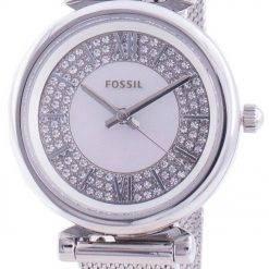 Fossil Carlie Mini ES4837 Quartz Diamond Accents Women's Watch