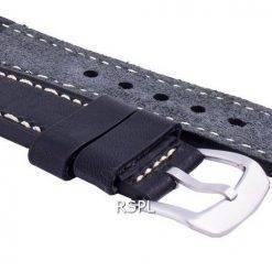 Seiko LS16 Black Rubber Strap 22mm