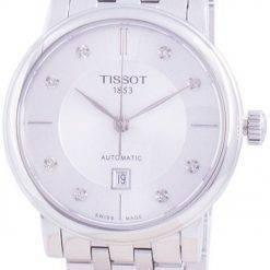 Tissot T-Classic Carson T122.207.11.036.00 T1222071103600 Automatic Diamond Accents Women's Watch