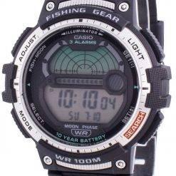 Casio Youth WS-1200H-1AV Quartz Moon Phase Men's Watch