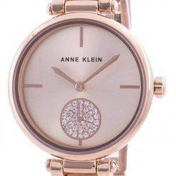 Anne Klein Swarovski Crystal Accented 3000RGRG Quartz Women's Watch