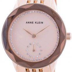 Anne Klein Swarovski Crystal Accented 3506RGRG Quartz Women's Watch
