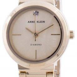 Anne Klein Genuine Diamond 3528CHGB Quartz Women's Watch