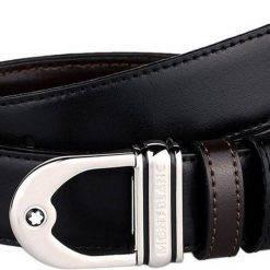Montblanc 9693 Reversible Calfskin Leather Belt