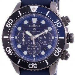Seiko Prospex Save The Ocean Diver's SSC701 SSC701P1 SSC701P Quartz Chronograph Special Edition 200M Men's Watch