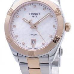 Tissot T-Classic PR100 T101.910.22.116.00 T1019102211600 Diamond Accents Women's Watch