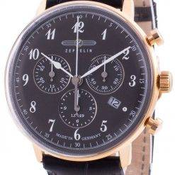 Zeppelin Hindenburg LZ129 7084-2 70842 Quartz Chronograph Men's Watch