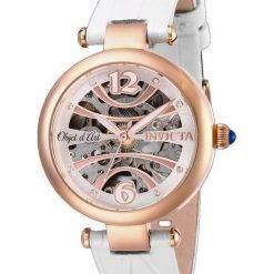 Invicta Objet D Art 26371 Automatic Skeleton Women's Watch