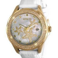 Invicta Wildflower Ocean Voyage 32666 Quartz Diamond Accents 100M Women's Watch