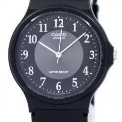 Casio Classic Analog Quartz Black Resin MQ-24-1B3LDF MQ-24-1B3L Men's Watch