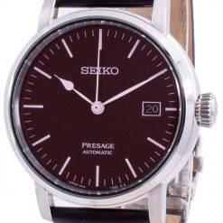 Seiko Presage Riki Watanabe Automatic Brown Enamel SPB115 SPB115J1 SPB115J Japan Made 100M Men's Watch