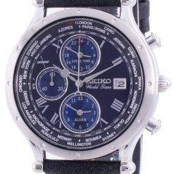 Seiko 30th Anniversary Age Of Discovery World Time SPL059 SPL059P1 SPL059P Quartz Chronograph Limited Edition Men's Watch
