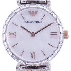 Emporio Armani Gianni T-Bar Mother Of Pearl Dial Quartz AR11290 Womens Watch
