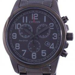 Citizen Chandler Chronograph Black Dial Eco-Drive AT0205-52E 100M Men's Watch