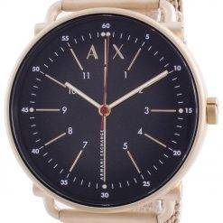 Armani Exchange Rocco Black Dial Quartz AX2901 Mens Watch