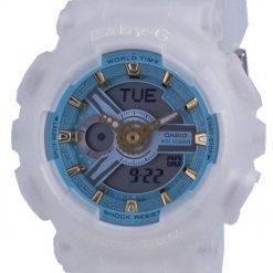 Casio Baby-G World Time Quartz BA-110SC-7A BA110SC-7A 100M Women's Watch