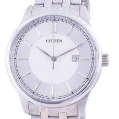 Citizen Silver Dial Stainless Steel Quartz BI1050-56A Men's Watch