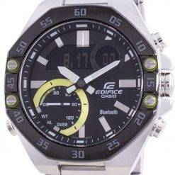 Casio Edifice World Time Mobile Link ECB-10DB-1A ECB10DB-1 100M Mens Watch