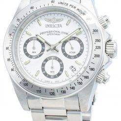 Invicta Speedway 200M Chronograph White Dial INV9211/9211 Mens Watch