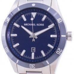 Michael Kors Layton Blue Dial Stainless Steel Quartz MK8815 Men's Watch