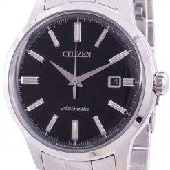 Citizen Black Dial Automatic Japan Made NK0000-95E Mens Watch