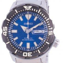 Seiko Prospex Save The Ocean Special Edition Diver's Automatic SRPE09 SRPE09K1 SRPE09K 200M Men's Watch