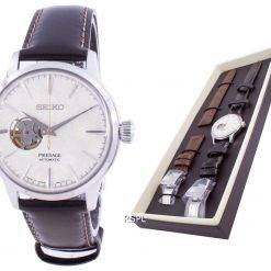 Seiko Presage Limited Edition Open Heart Automatic SSA409 SSA409J1 SSA409J With Gift Set Men's Watch