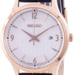 Seiko Neo Classic Calf Leather Quartz SXDG98 SXDG98P1 SXDG98P 100M Women's Watch