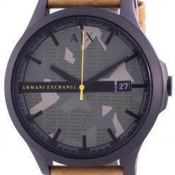 Armani Exchange Hampton Green Dial AX2412 Quartz Men's Watch