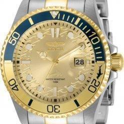 Invicta Pro Diver Gold Tone Dial Quartz 30948 100M Men's Watch