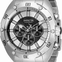 Invicta Venom Chronograph Black Dial Quartz 33750 100M Men's Watch