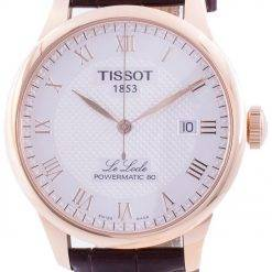 Tissot Le Locle Powermatic 80 Automatic T006.407.36.033.00 T0064073603300 Men's Watch