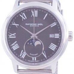 Raymond Weil Maestro Geneve Moon Phase Automatic 2239M-ST-00609 Mens Watch