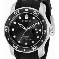 Invicta Pro Diver Black Dial Automatic 33341 200M Mens Watch